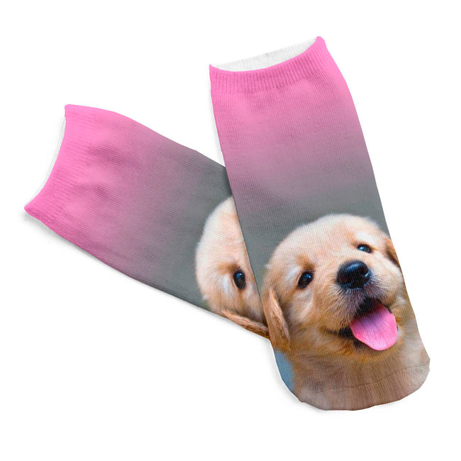 Golden Retriever Dog Women Socks - boopetclub