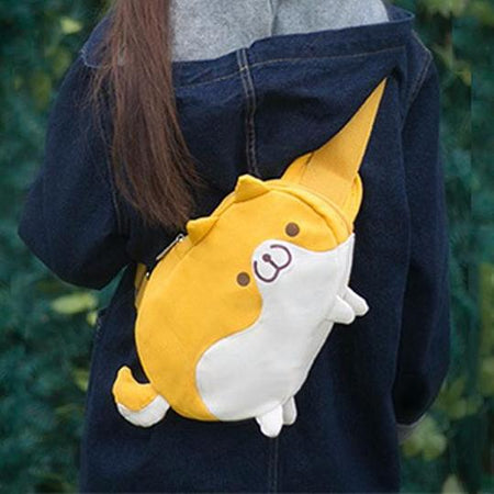 Corgi Butt Car Neck Pillow