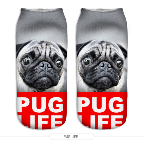 Pug Life Dog Women Socks - boopetclub