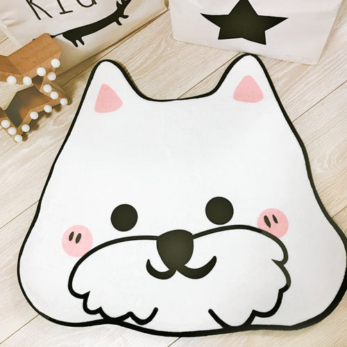 West Highland White Terrier Westie Floor Mat, Pet Mat