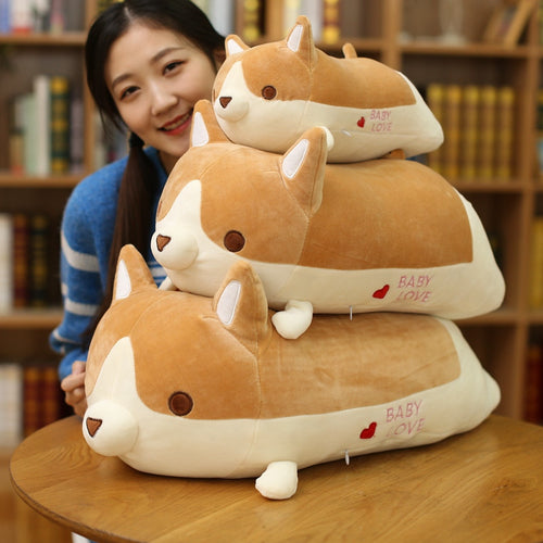 Corgi Doll Pillow with Blanket - boopetclub