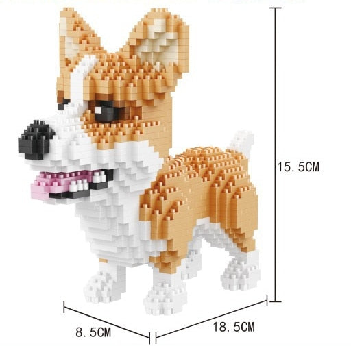 Corgi DIY Small Blocks - boopetclub