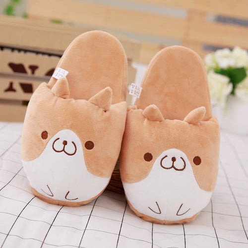 Corgi Dog Slipper Home Shoes - boopetclub