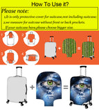 Golden Retriever Travel Luggage Cover, Suitcase Protector 18