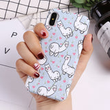 Alpaca Luminous iPhone Case - boopetclub