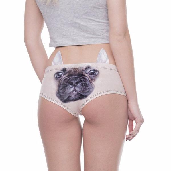 Cute Dog Underwear / Puppy Panties with ears - boopetclub
