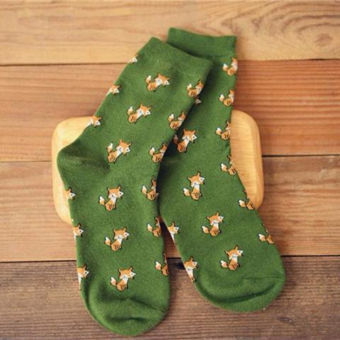 Fox Animal Socks - 1 pair - boopetclub