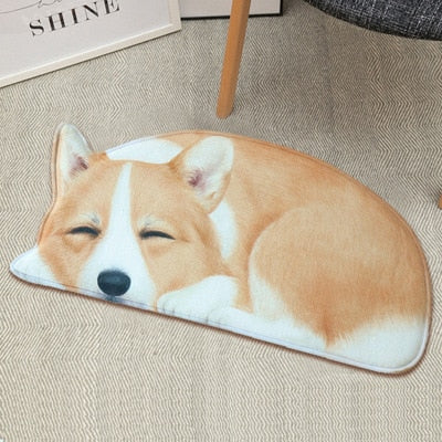 Dog Breed Doormat Bathroom Floor Mat