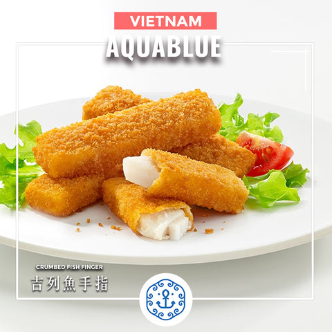 越南吉列魚手指 10件 250g [需烹調] | Vietnamese Crumbed Fish Finger 10pcs 250g [Need to be cooked]