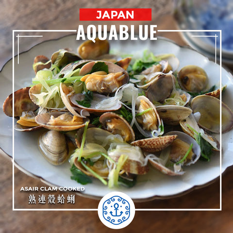 日本熟連殼蛤蜊 ~500g [解凍即食] |  Japanese Asair Clam Cooked ~500g [Edible after thawing]