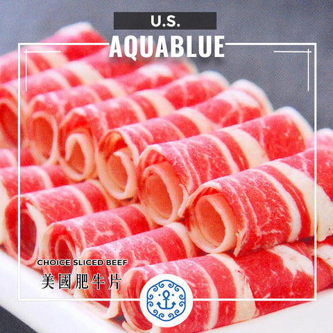 美國Choice肥牛片 200g/包 [需烹調] | American Choice Beef Sliced 200g/pack [Need to be cooked]