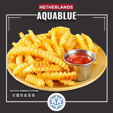 荷蘭粗曲薯條 2kg [需烹調] | Dutch French Fries 2kg [Need to be cooked]