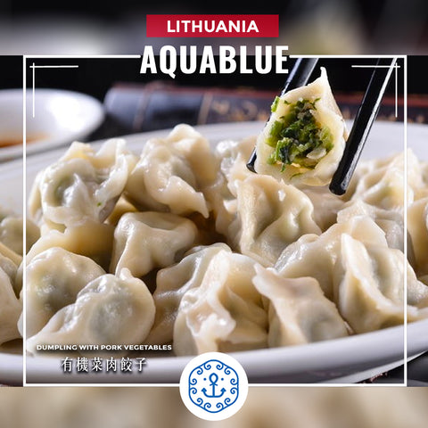 立陶宛有機菜肉餃子 400g [需烹調] |  lithuanian Dumpling with Pork and Organic Vegetables 400g [Need to be cooked]