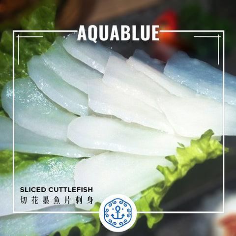 切花墨魚片刺身 Sliced Cuttlefish Sashimi