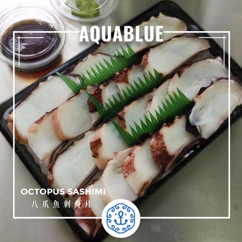 八爪魚刺身片 Octopus Sliced (Sashimi)