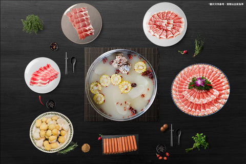 伽藍火鍋套餐 (6-8人) | Aquablue Hot Pot Set (6-8 persons)