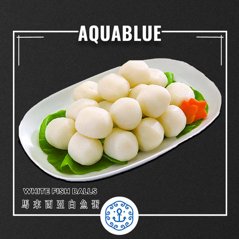 馬來西亞白魚蛋 1磅 [需烹調] | Malaysia white FishBall 1 pound [Need to be cooked]