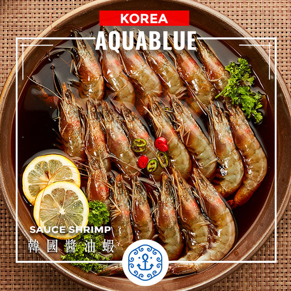 韓國急凍醬油蝦 450g [解凍即食] | Korea BARO Sauce Shrimp 450g [Edible after thawing]