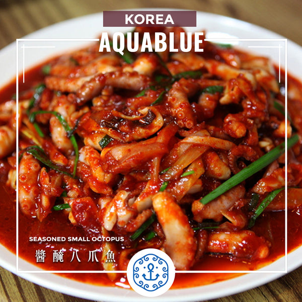 韓國醬醃八爪魚 ~60g [解凍即食] | Korea Seasoned small Octopus ~60g [Edible after thawing]
