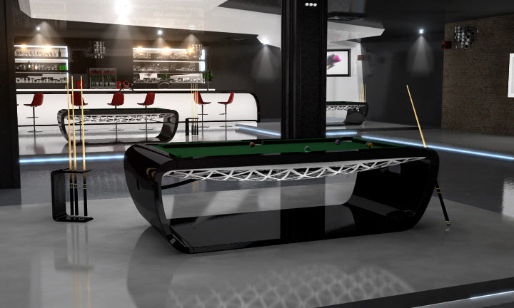 ... Blacklight Billiard Pool Table ...