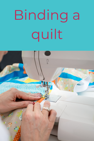 altogether patchwork, how to bind a quilt, binding a quilt, beginner quilting, attaching the quilt binding,