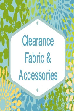 Clearance fabric and accessories, sale fabric