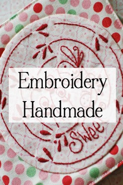 embroidery handmade and stitchery handmade