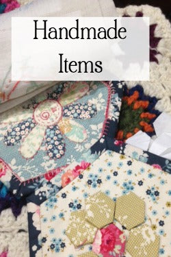 handmade sewing items, handmade for the home