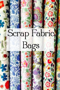scrap fabric bags and remnant fabric bags