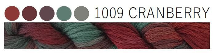 Cottage Garden Threads-CGT 1009 Cranberry