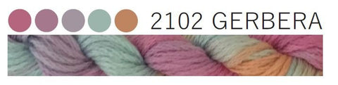 Cottage Garden Threads-CGT 2102 Gerbera