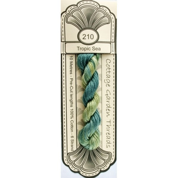 Cottage Garden Threads-CGT 210 Tropic Sea