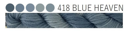 Cottage Garden Threads-CGT 418 Blue Heaven