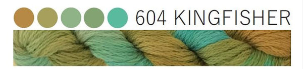 Cottage Garden Threads-CGT 604 Kingfisher