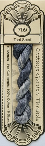 Cottage Garden Threads-CGT 709 Tool Shed