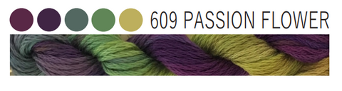 Cottage Garden Threads-CGT 609 Passion Flower