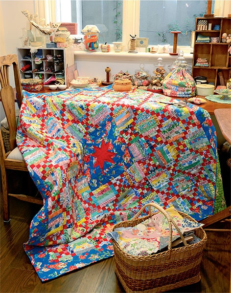 Quilts for life made with love by Judy Newman - Quiltmania