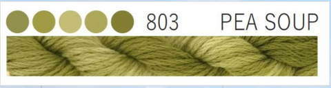 Cottage Garden Threads-CGT 803 Pea Soup