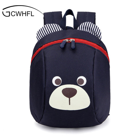 2d0d0c635cb9 Age 1-4 Toddler Backpack Anti-lost Kids Baby Bag Cute Animal Dog Children  ...