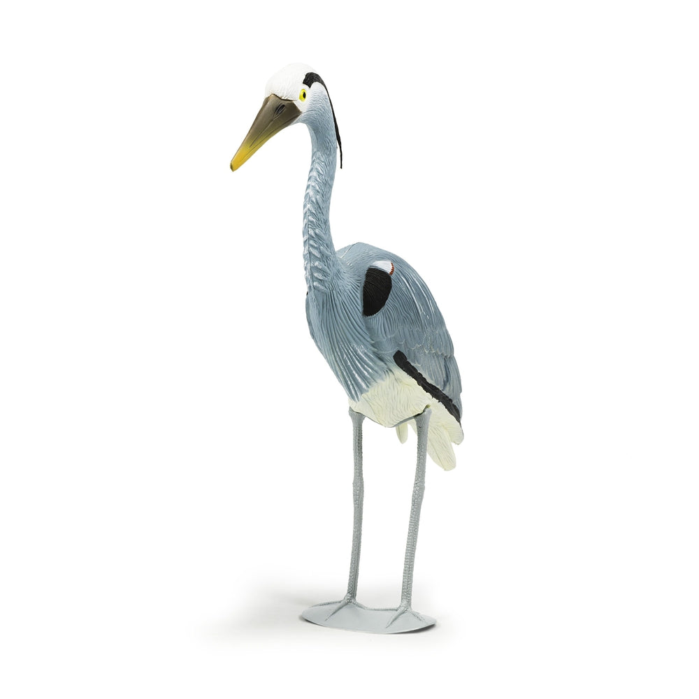 Blue Heron Decoy, Looks life-like! - Pond Supplies 4 Less