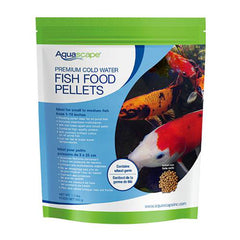 Aquascape Premium Cold Water Fish Food Small Pellet 1.1LB, 98870 - Pond Supplies 4 Less