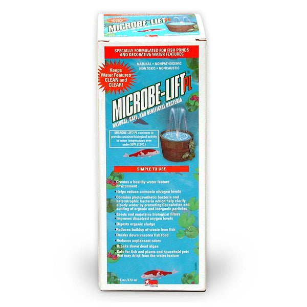 Microbe-Lift PL Pond Clarifier 16 oz, 10PLP - Pond Supplies 4 Less