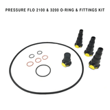 Laguna Replacement O-Ring & Fittings Set For Pressure Flo 2100 & 3200 Filter - Pond Supplies 4 Less