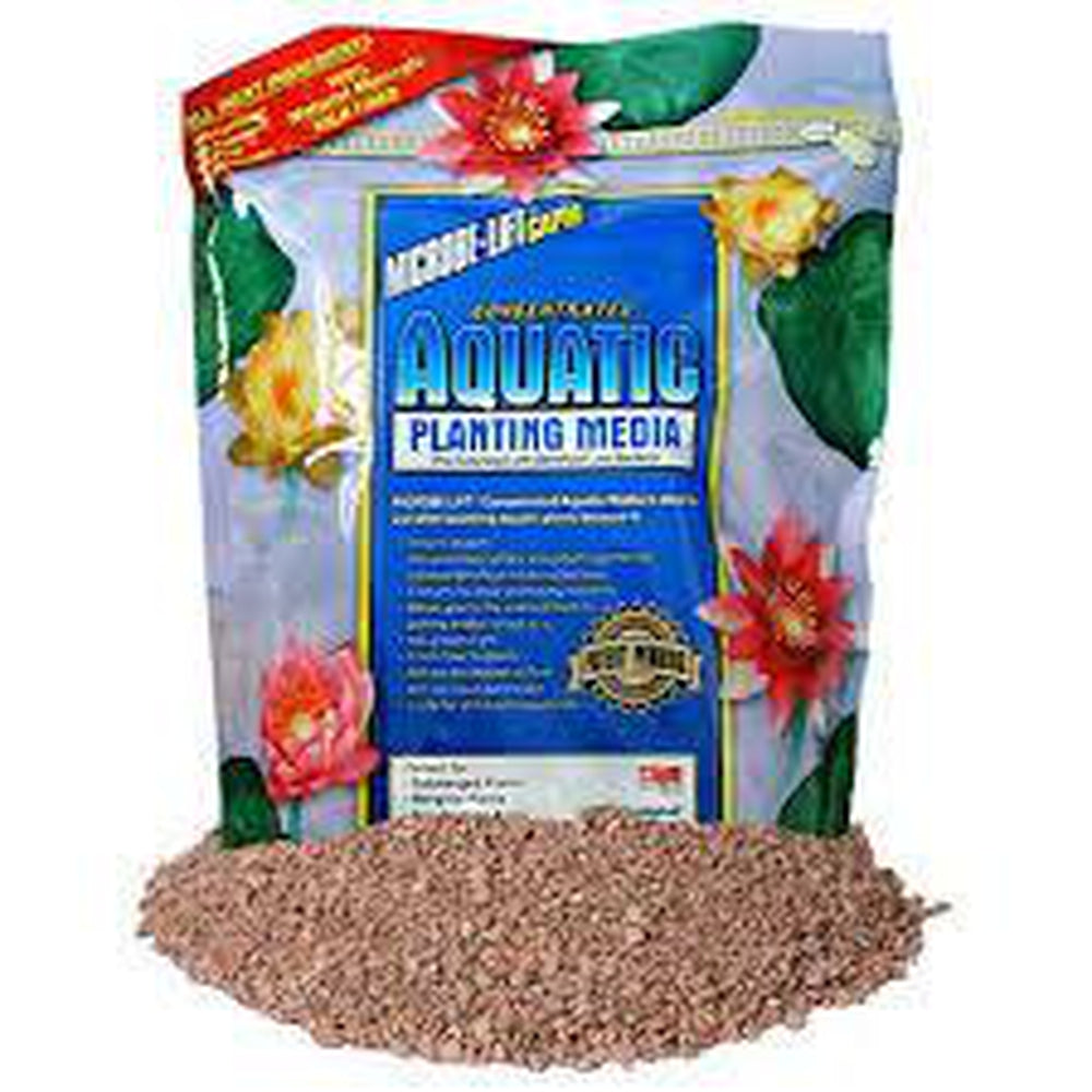 Aquatic Planting Media Concentrated by Microbe Lift 20 Pound Bag, MLCAPM20 - Pond Supplies 4 Less