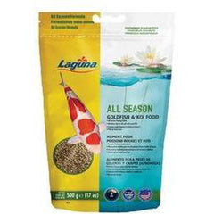 Laguna All Season Goldfish/Koi Floating Food 17oz, PT74 - Pond Supplies 4 Less