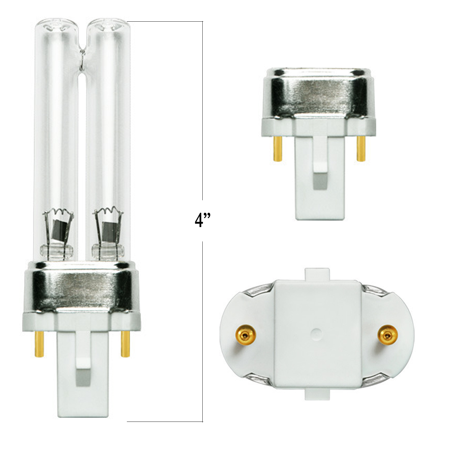 5 Watt UV Bulb Fits Many Models - Pond Supplies 4 Less