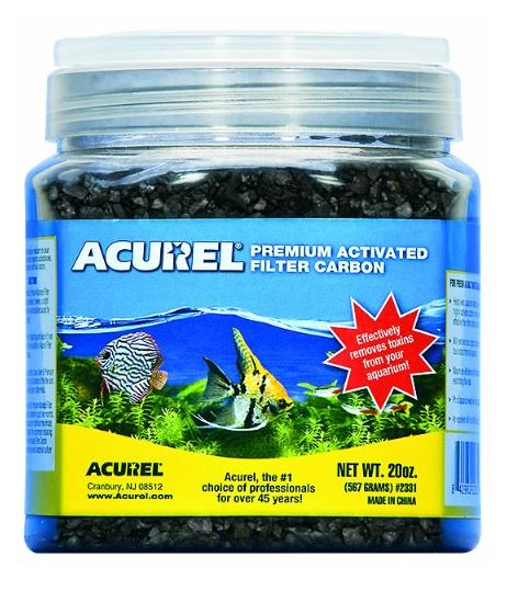 Acurel Premium Activated Filter Carbon Granules for Aquariums and Ponds - Pond Supplies 4 Less