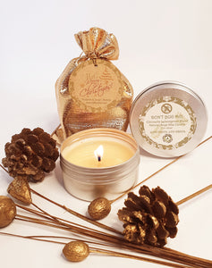 Natural Soy Wax Travel Tin Candle 80ml. (Christmas Collection) - Houghton & Gough Lifestyles