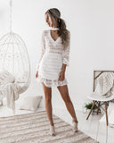 Kassie Dress - White