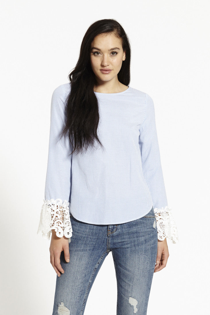Emily Blouse In Blue